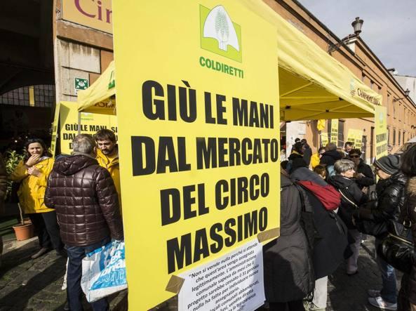 Raggi: avanti NO STOP la protesta contro chiusura Mercato di San Teodoro