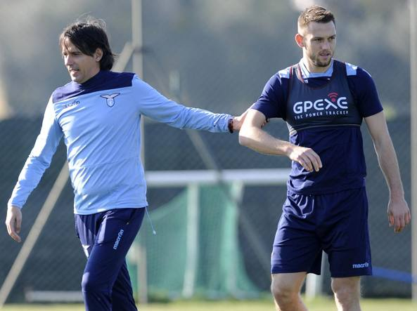 Inzaghi, a sinistra, con De Vrij (Getty Images)