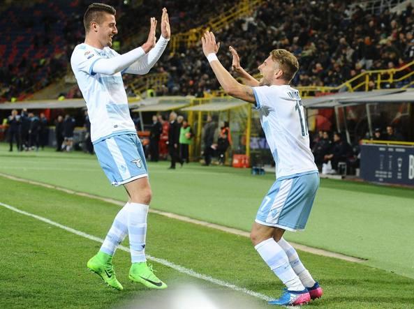 La Lazio vince ed è quarta, Immobile: