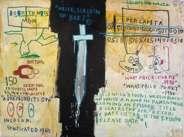 La New York di Basquiat in mostra a Roma
