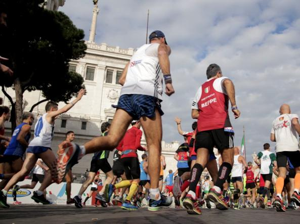 Via alla Maratona di Roma, il sindaco Raggi: