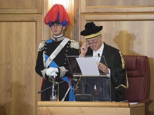 Il presidente della Corte dei Conti Arturo Martucci