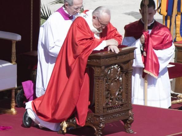 Domenica delle Palme, Papa Francesco: Omelia e Angelus