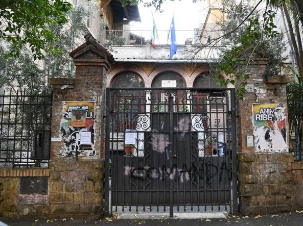 L'ingresso del liceo Avogadro (Lapresse)