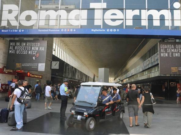 L'esterno della stazione Termini (foto Mario Proto)