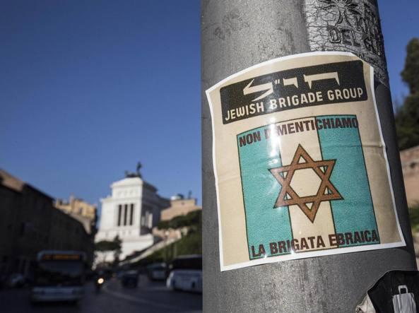 Roma città divisa, per 25 aprile ebrei e partigiani separati