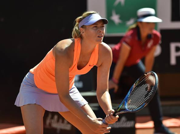 Tennis, Maria Sharapova esclusa dal Roland Garros