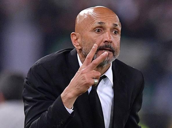 Il tecnico della Roma Luciano Spalletti (LaPresse)