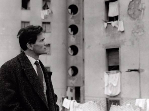 Pasolini ritratto da Cecilia Mangini nel 1958