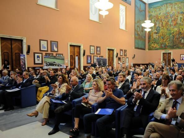 Il Salone del Coni gremito per ricordare Elio De Angelis