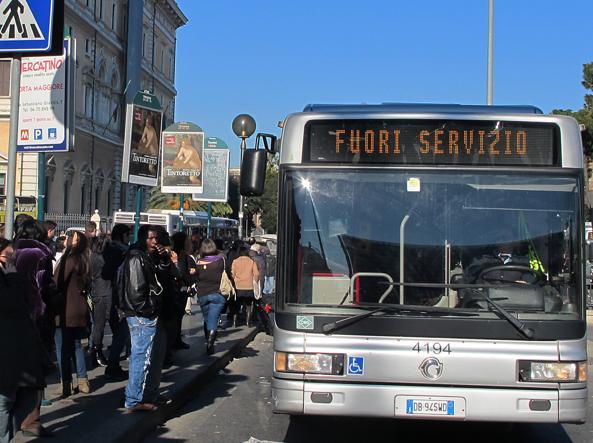 Roma: Atac di nuovo in sciopero lunedì 26 giugno