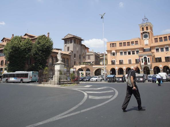 Piazza Sempione (LaPresse)