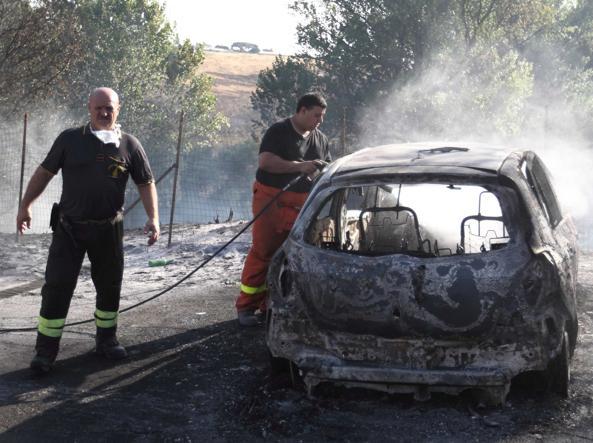 Rogo, evacuato stabilimento auto a Roma