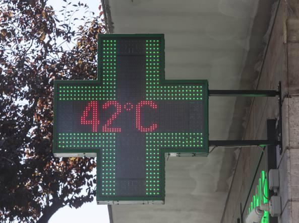 Meteo Trentino: fino a sabato temperature oltre i 35 gradi