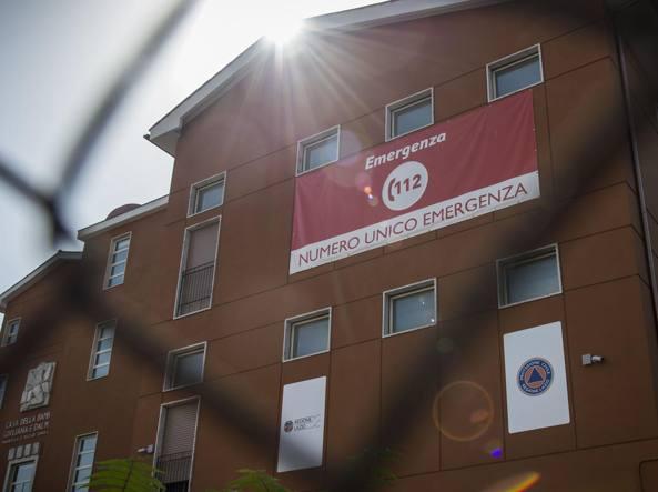 La sede del 112,  in  via dei Sommozzatori a Roma (Imagoeconomica)