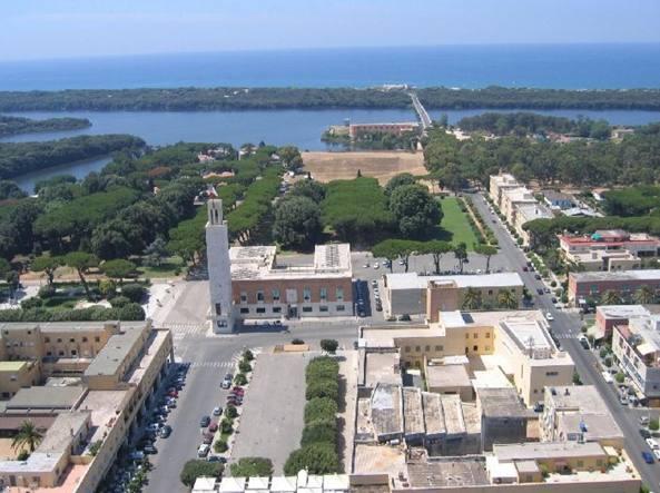 Panoramica di Sabaudia