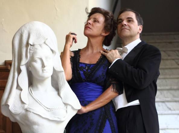 Pamela Villoresi e Marco Scolastra