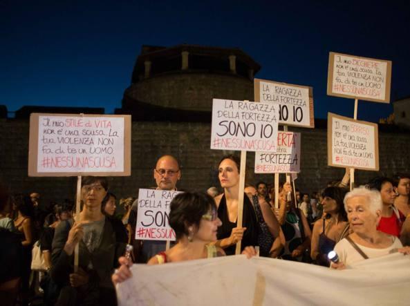 La manifestazione a Firenze