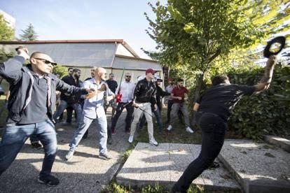 Tiburtino III, tensione tra Casapound e antifascisti