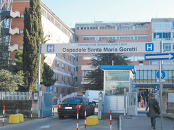 Ospedale Santa Maria Goretti (Foto tratta dal sito della Ausl di Latina)