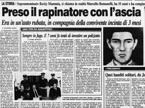 Roma, 'Rocky Mannaia' di nuovo in manette