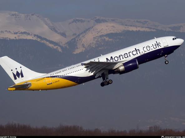 La Monarch Airlines è fallita