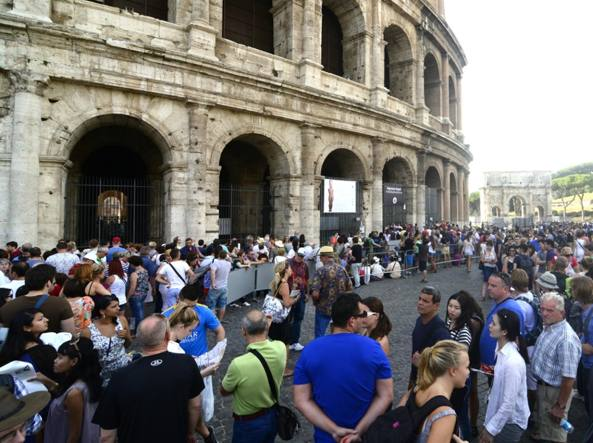 Colosseo a Roma: riapertura storica dell'attico dell'anfiteatro