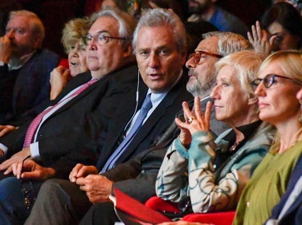 L'ex sindaco Francesco Rutelli (foto Lapresse)