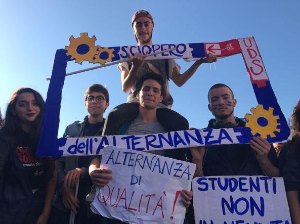 Studenti in sciopero, ma la piazza è vuota