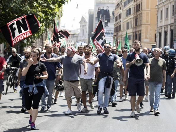 Marcia su Roma, Forza Nuova rinuncia al corteo del 28 ottobre
