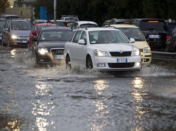 Lazio-Udinese non si gioca, diluvio sull'Olimpico: ufficiale il rinvio