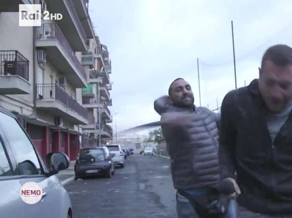 Roberto Spada fermato per l'aggressione al giornalista