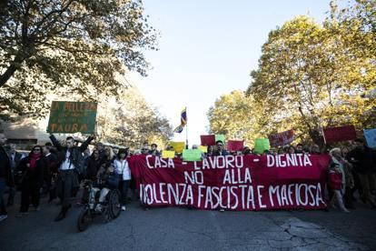 Risultati immagini per roma manifestazione contro la mafia