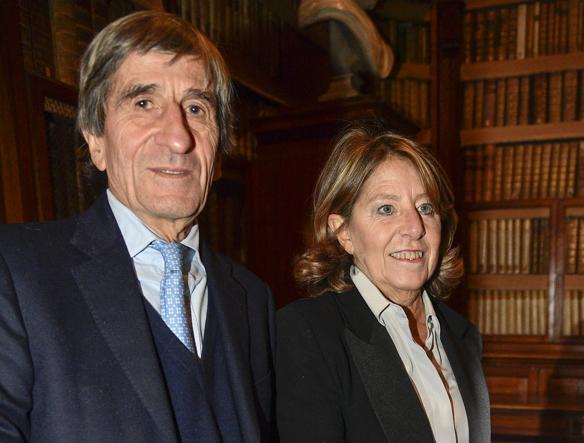 Stefano e Serena Andreotti (LaPresse)
