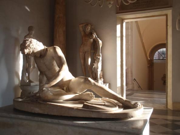 Musei Capitolini, Palazzo Nuovo, Sala del Galata