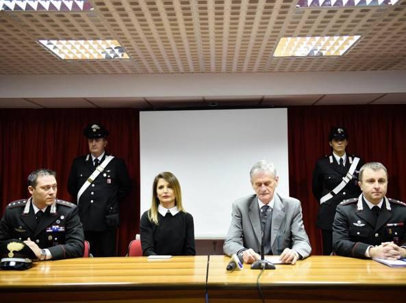 La conferenza stampa (foto Michele Marangon)