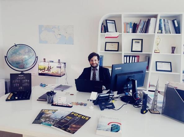 L'ingegnere Dario Menichetti