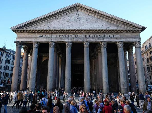 Il Pantheon (Ansa)