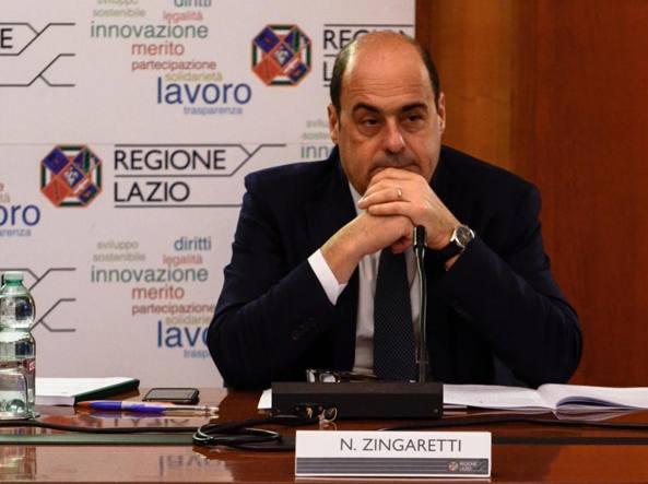Sanità: Zingaretti, Oltre 1.000 precari assunti entro l'anno