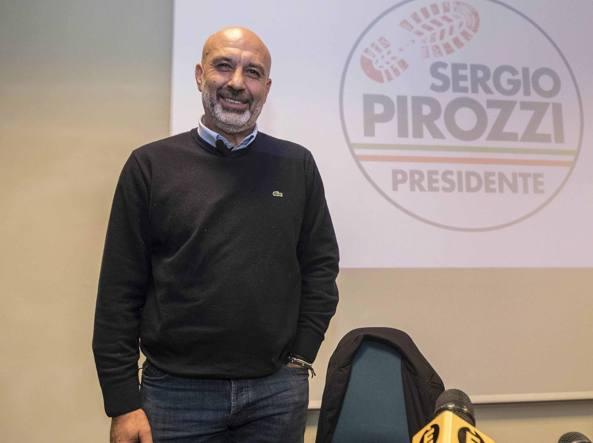 Regionali Lazio: Pirozzi scherza e mette in scena la