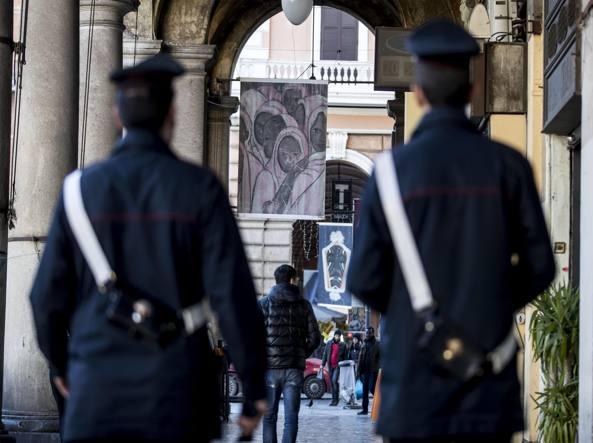 I portici di piazza Vittorio (Ansa)