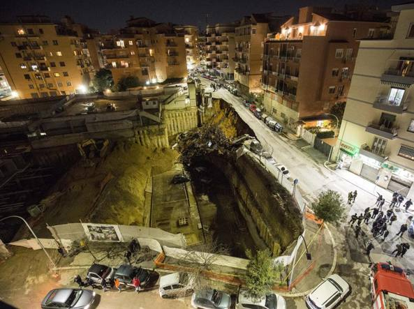 WATCH Cars Swallowed Up by Huge Sinkhole in Rome