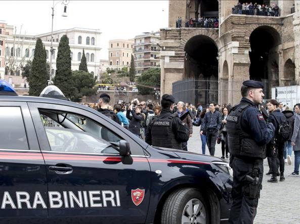 Tir entra nella Green Zone a Roma: fermato dai carabinieri