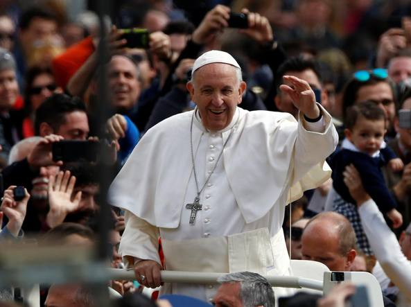San Pietro blindata per messa del Papa