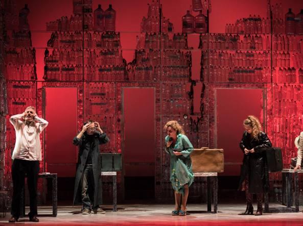 Una foto dello spettacolo «Spaccanapoli» di Ruggero Cappuccio
